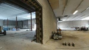 Concord Road Equipment Warehouse Walls