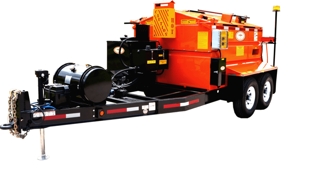 Concord Road Equipment Asphalt Hauler With Hitch