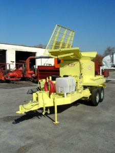 Concord Road Equipment Neon Yellow Concrete Mixer