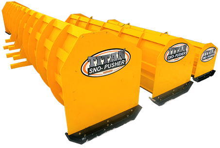 Titan Sno-Pusher Product Shot