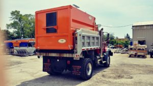 Concord Road Equipment Orange Truck Body Accessory