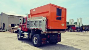 Concord Road Equipment Orange Truck Body Accesory