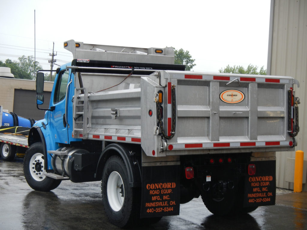 Concord Road Equipment Dump Body Rear