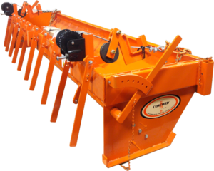 Concord Road Equipment Orange CRE-108CS Chip Spreader ISO