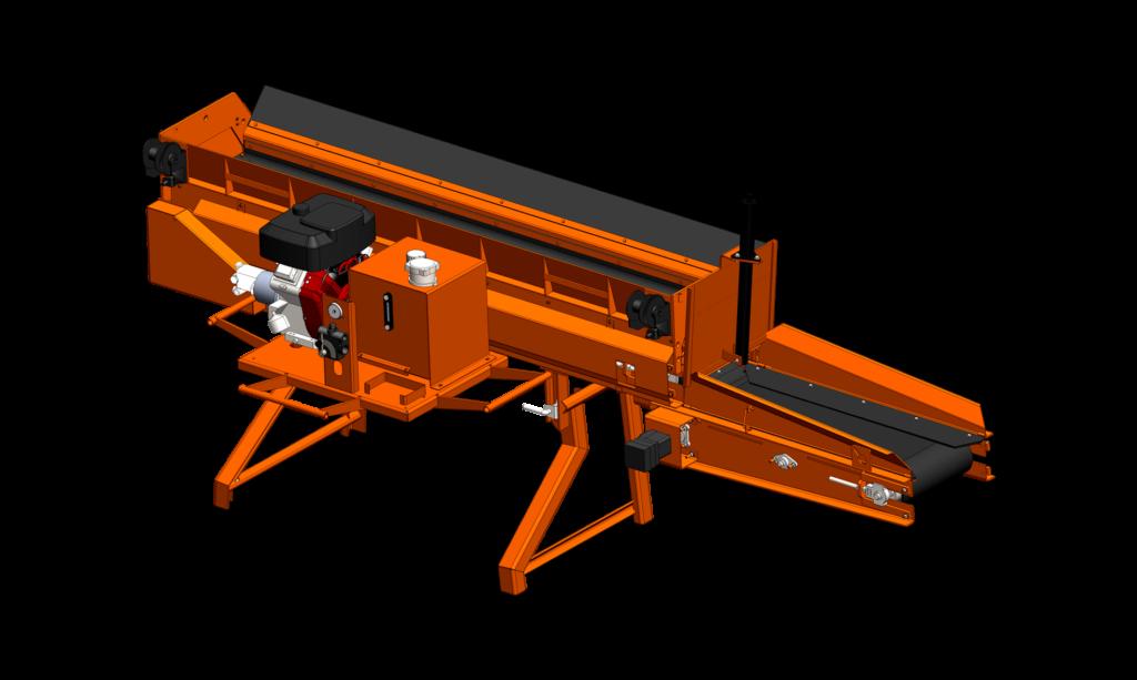 Concord Road Equipment Orange CRE-960