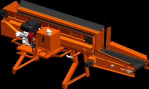 Concord Road Equipment Orange CRE-960 Close-up