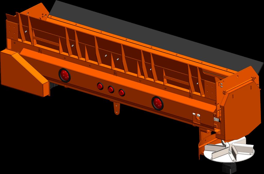Concord Road Equipment Orange CRE 960-18LG