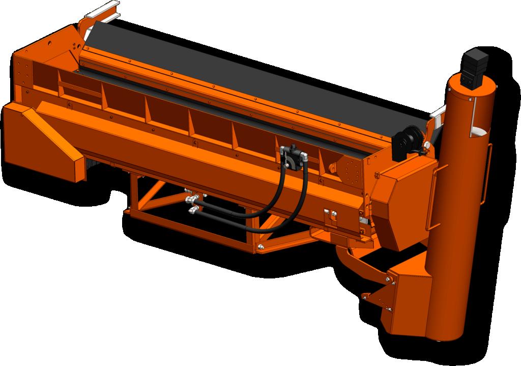 Concord Road Equipment Orange CRE-960- 18SP