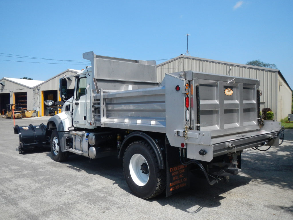 Concord Road Equipment Dump Body Side Rear