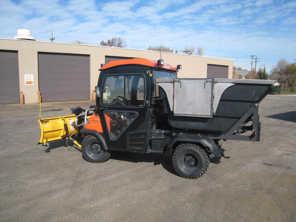 Concord Road Equipment Small Plow With Spreader