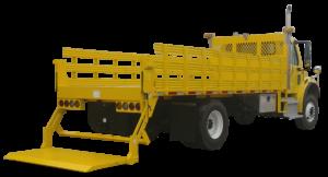 Concord Road Equipment Yellow Lift Gate Platform